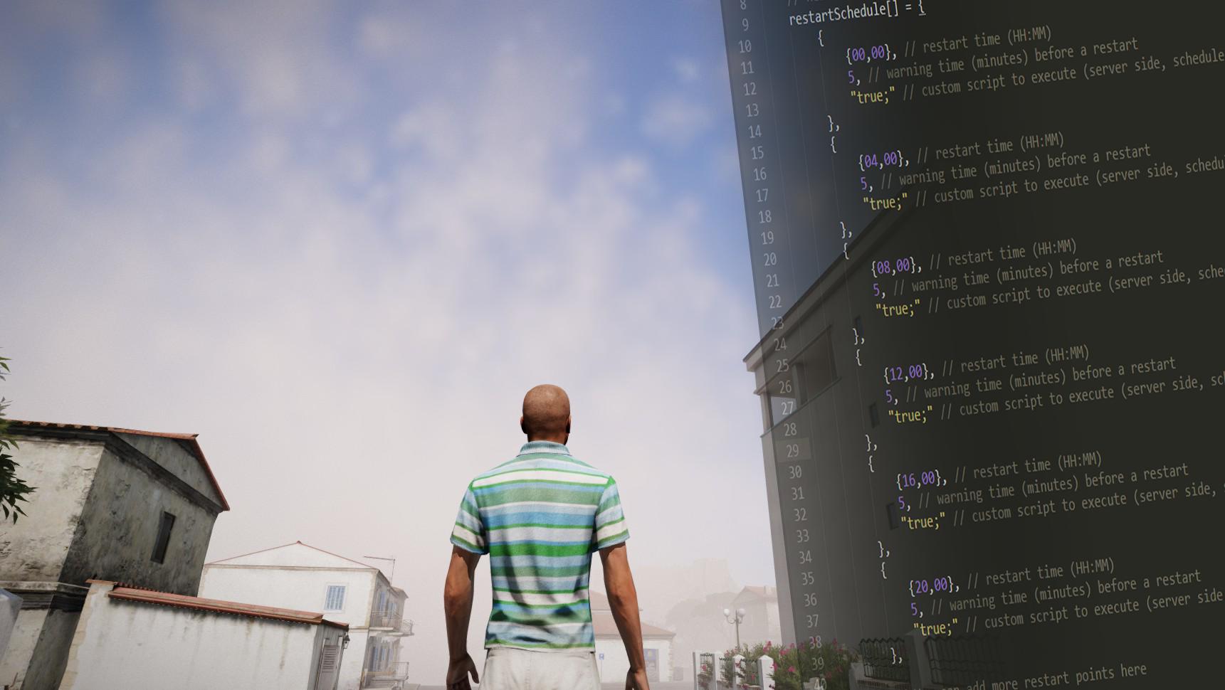 Scripted Server Restarts +