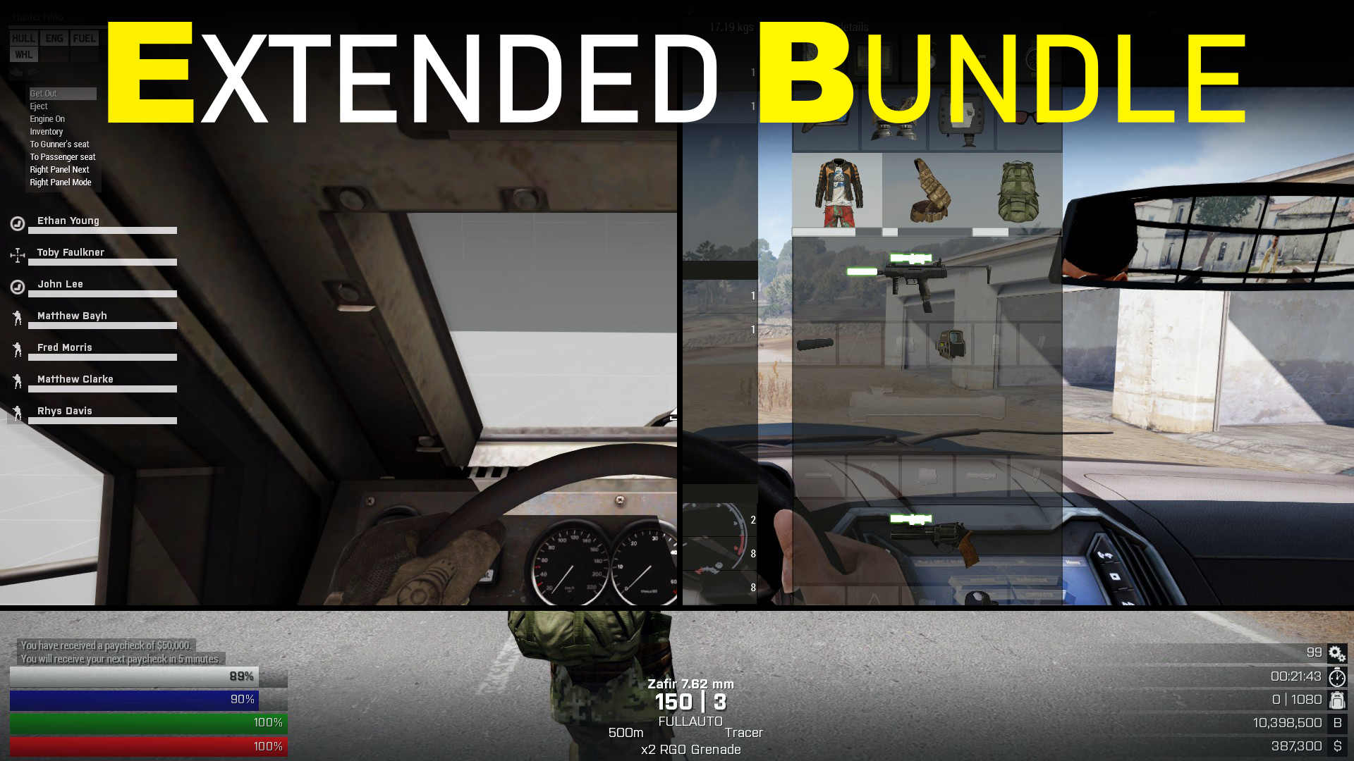 Bundle: Extended Pack