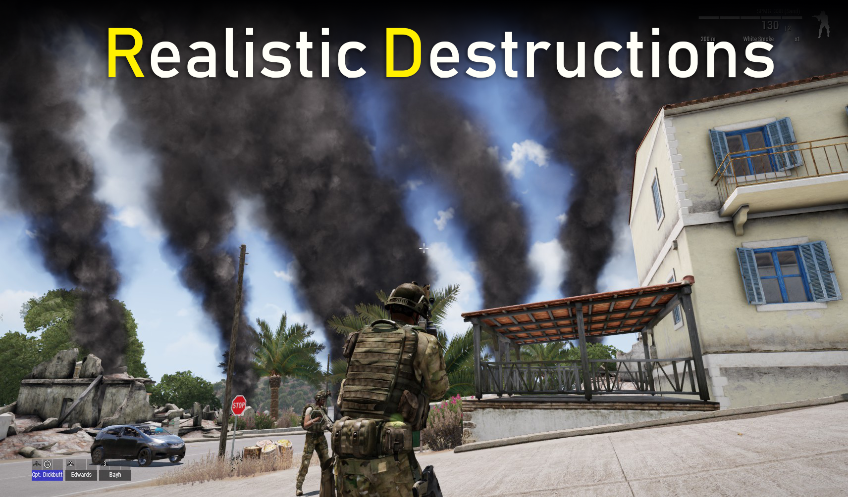 Realistic Destructions