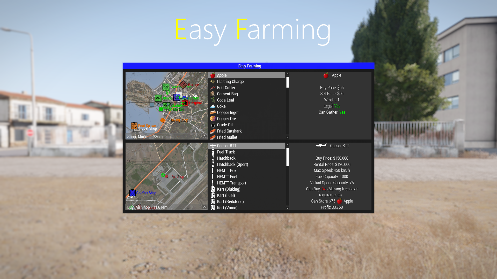 Easy Farming
