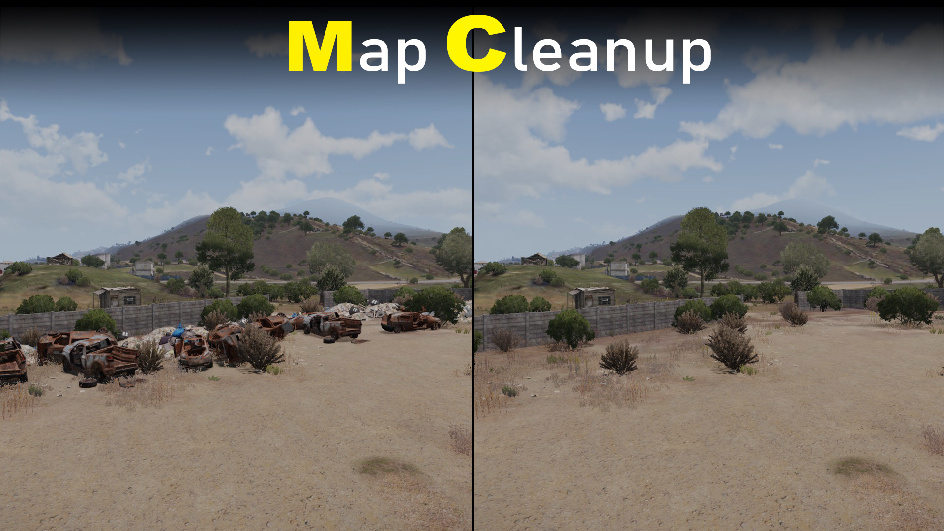 Map Cleanup