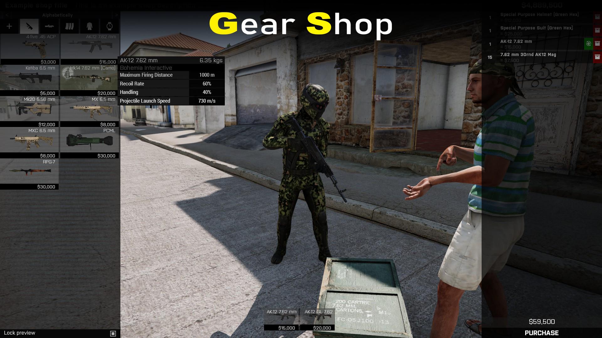 Gear Shops