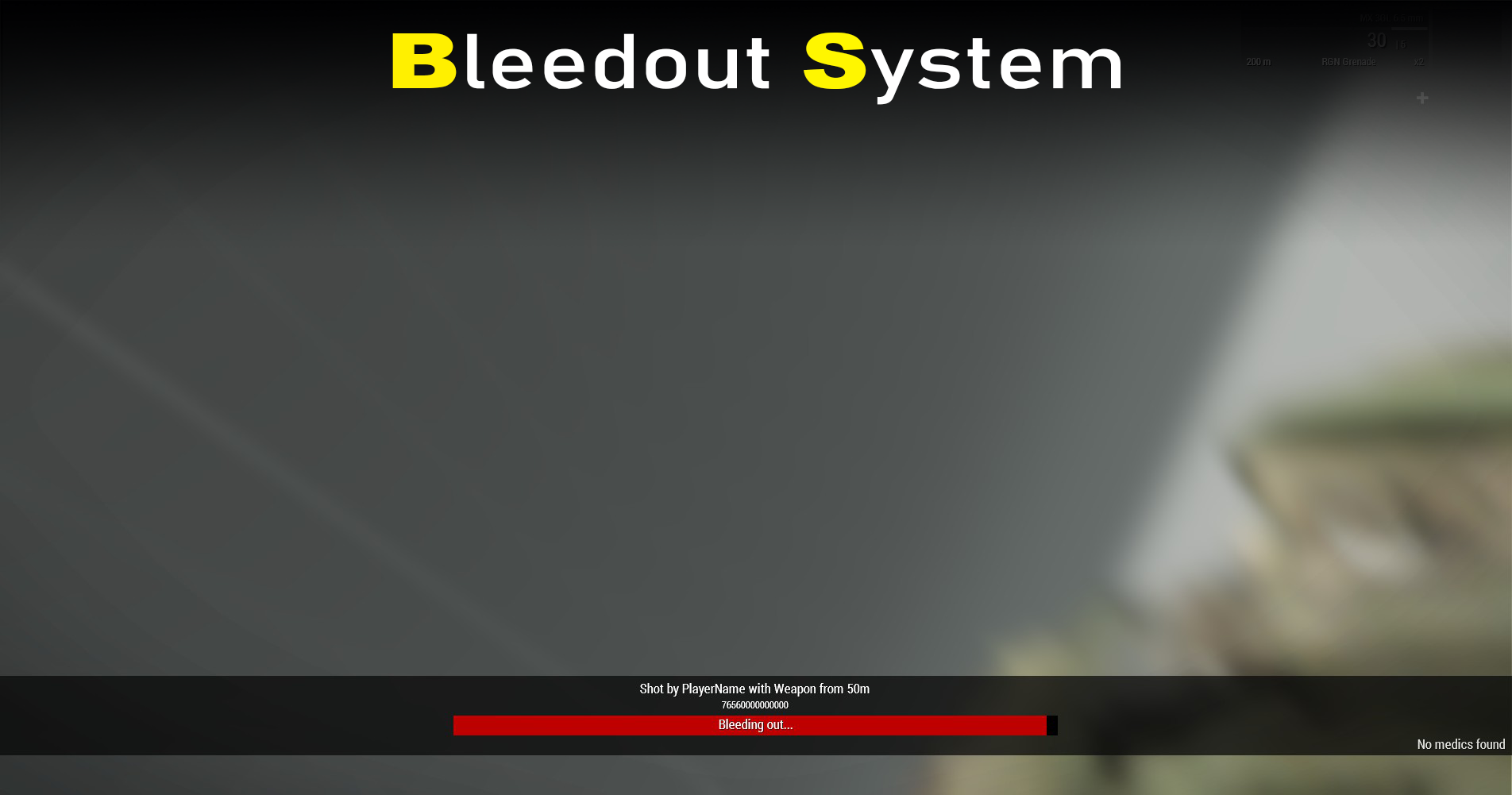 Bleedout System