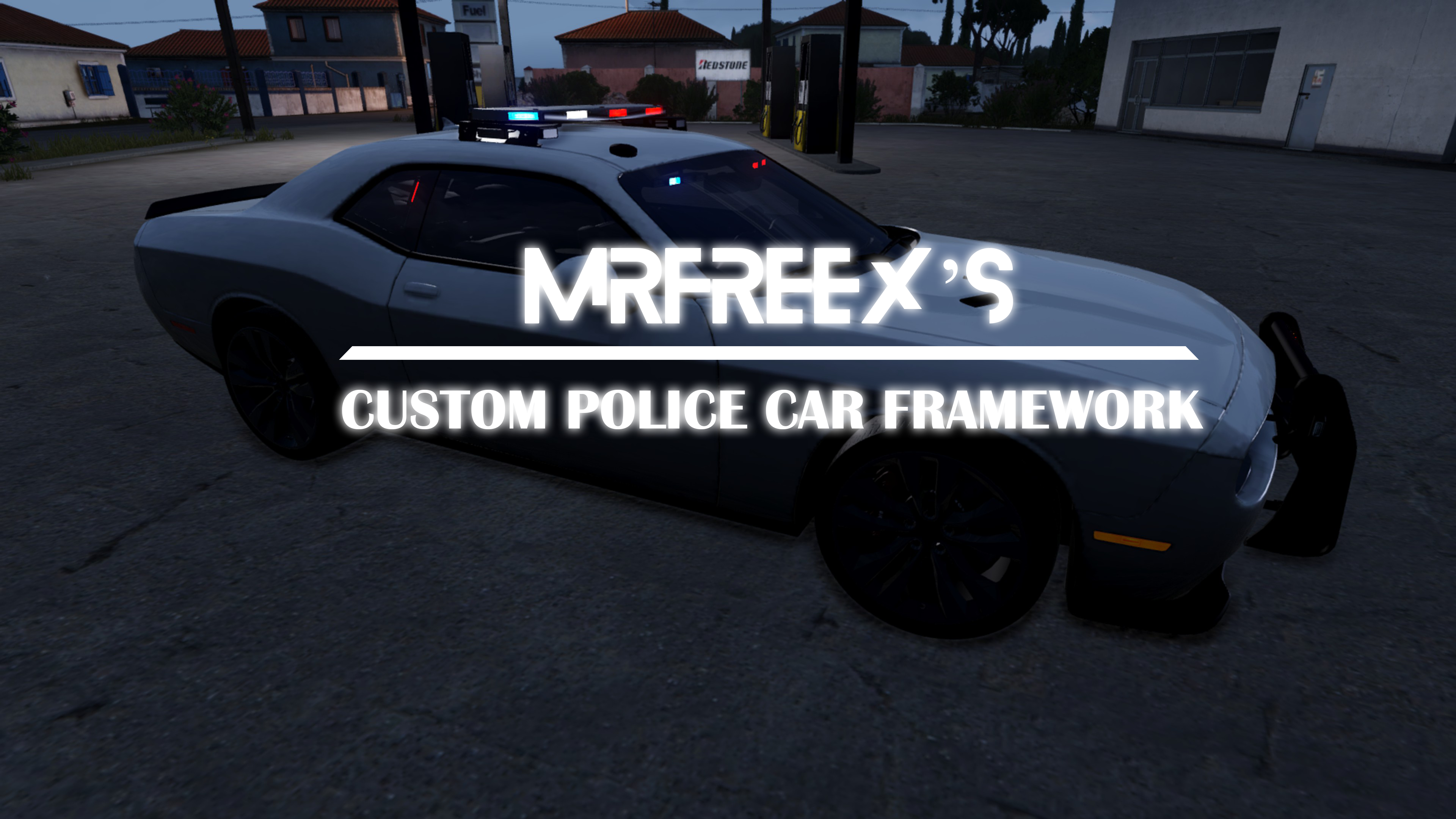 Police Cars Framework for D3S carpack