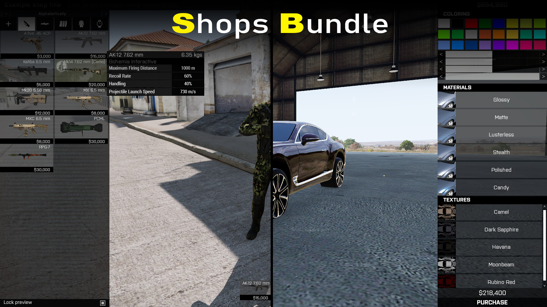 Bundle: Shops Pack