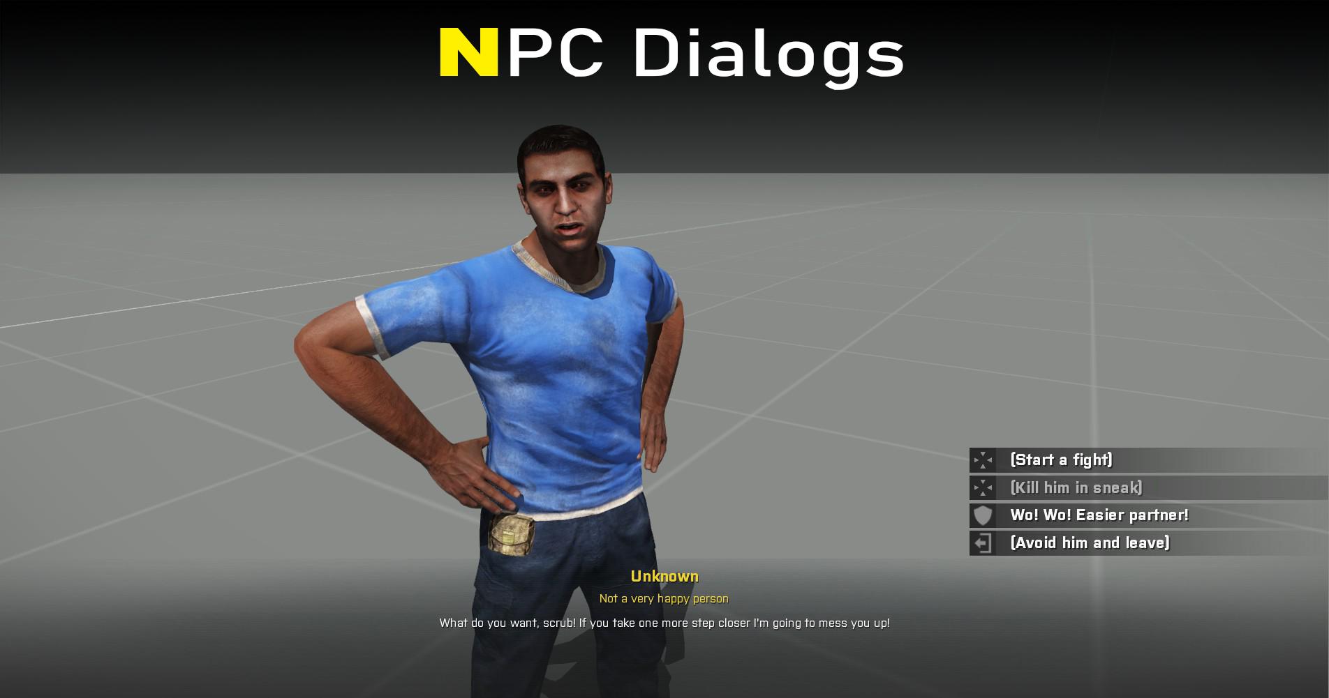NPC Dialogs